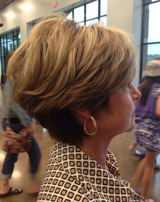 Short Hairstyles for Women Over 40 - 50