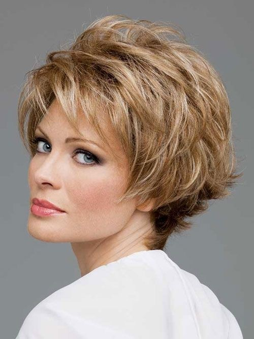 Short Shag Haircuts with Bangs