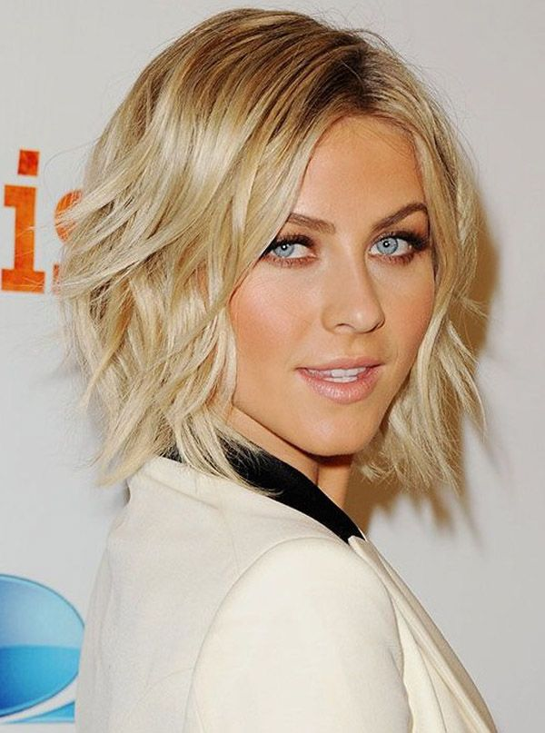 latest celebrity medium shag hairstyles for women