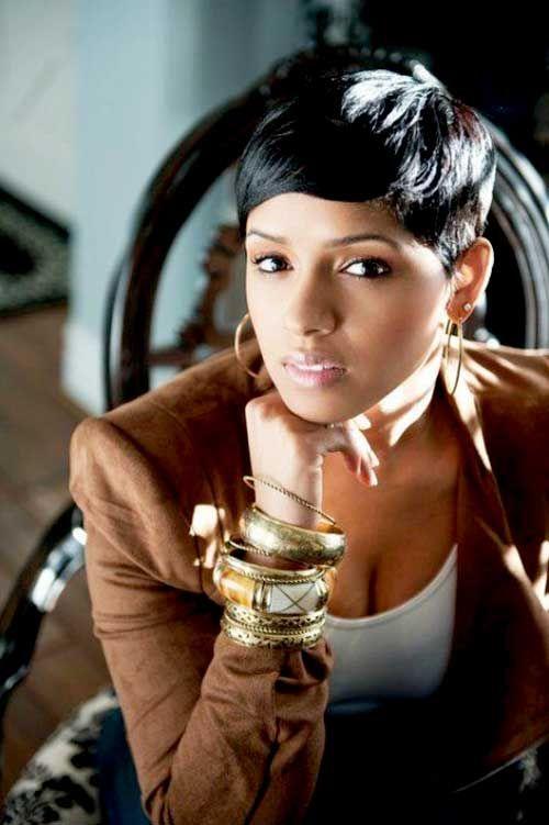 Pleasing 23 Pretty Hairstyles For Black Women African American Hair Ideas Short Hairstyles For Black Women Fulllsitofus