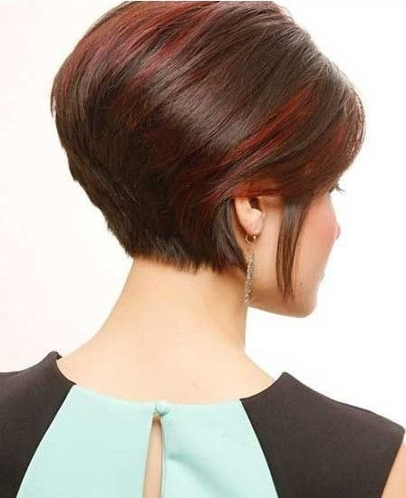 Short Stacked Bob Haircut - Funky Short Formal Hairstyles for Women