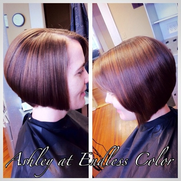 Short Straight A-line Bob Haircut