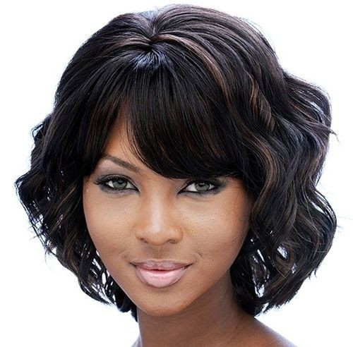 Sensational Groovy Short Bob Hairstyles For Black Women Styles Weekly Hairstyles For Women Draintrainus
