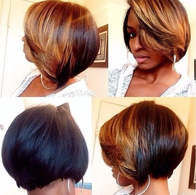 Terrific Groovy Short Bob Hairstyles For Black Women Styles Weekly Hairstyle Inspiration Daily Dogsangcom