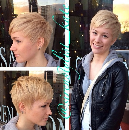 Stylish Pixie Haircut: 2015 Short Hairstyles for Women and Girls