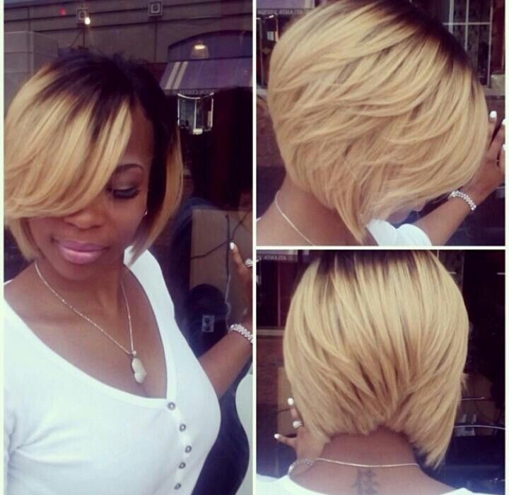 Awe Inspiring Groovy Short Bob Hairstyles For Black Women Styles Weekly Hairstyles For Women Draintrainus