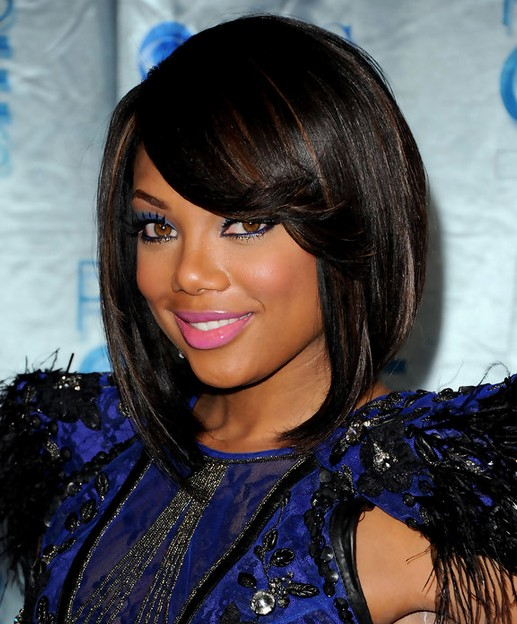 Tiffany Hines Hair Style - Short Bob Hairstyles for Black Women