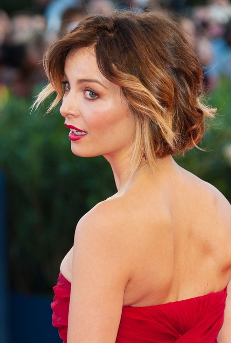 Violante Placido Short Ombre Hair 2014 - Ombre Hair Color Ideas