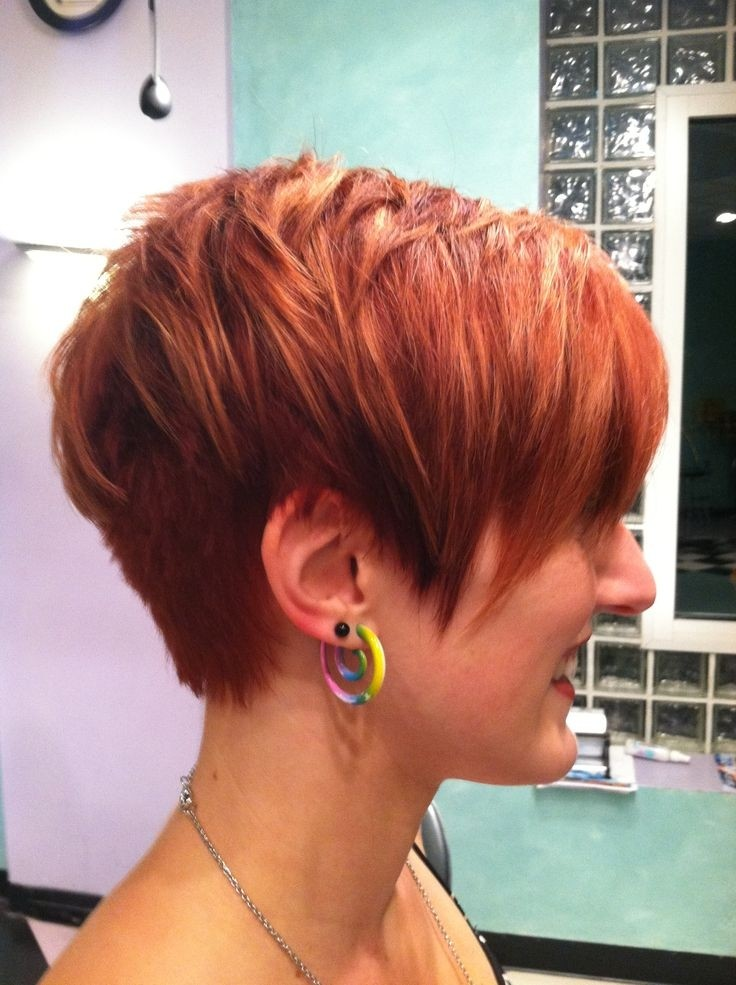 Women Short Hairstyles Trends 2015: Layered Pixie
