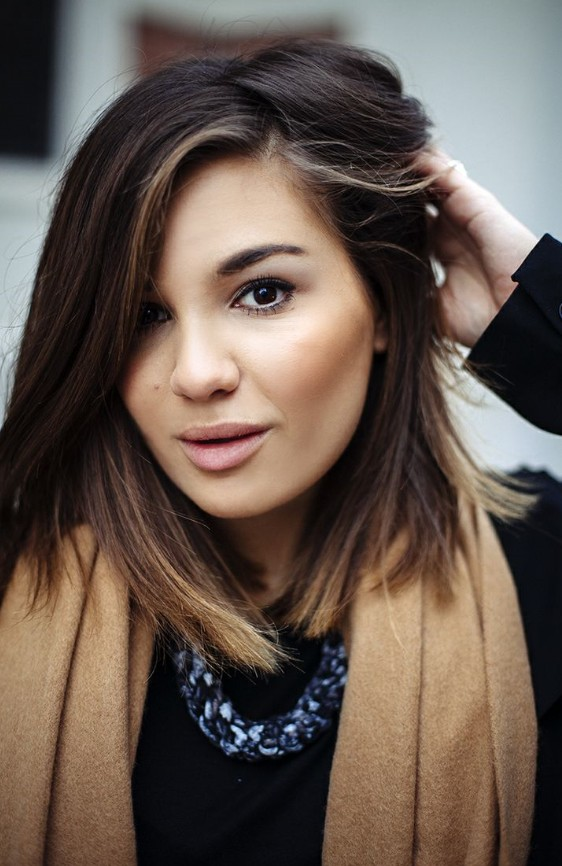 ombré sombre hair color ideas for winter