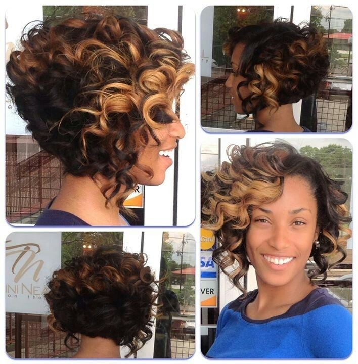 Outstanding 12 Fabulous Short Hairstyles For Black Women Styles Weekly Hairstyles For Men Maxibearus