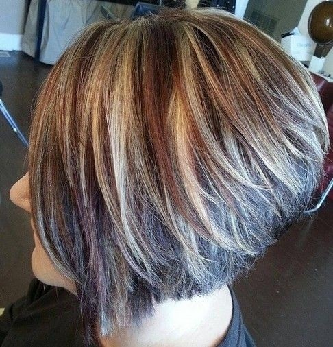 Bob Haircut for Thick Hair - Pretty Hair Color