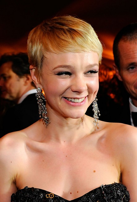 Carey Mulligan Formal Haircut for Short Hair