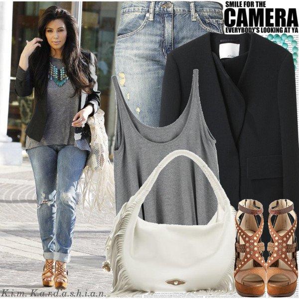 Celebrity dressing styles