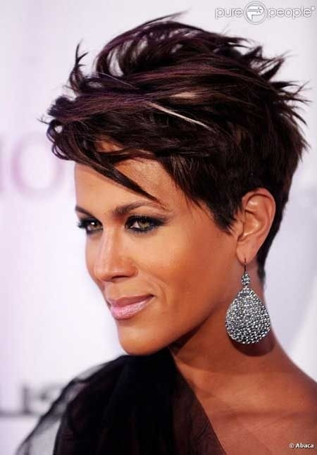 Cool 12 Fabulous Short Hairstyles For Black Women Styles Weekly Hairstyles For Men Maxibearus