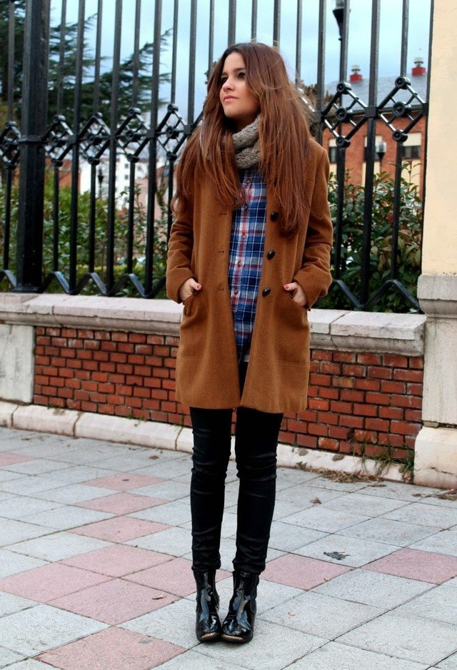Chic Winter Outfit Idea for 2015
