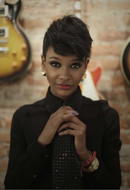 Cute, Easy Short Haircut for Black Women