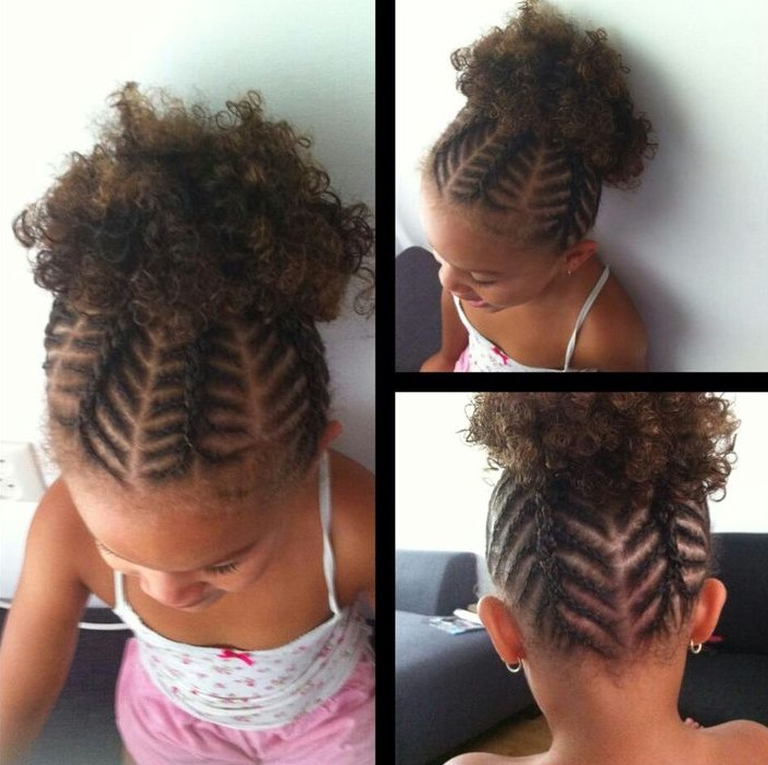Cute style for little black girls