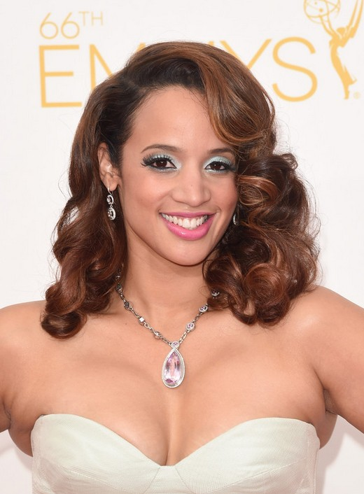 Dascha Polanco Medium Curly Hairstyles for Women