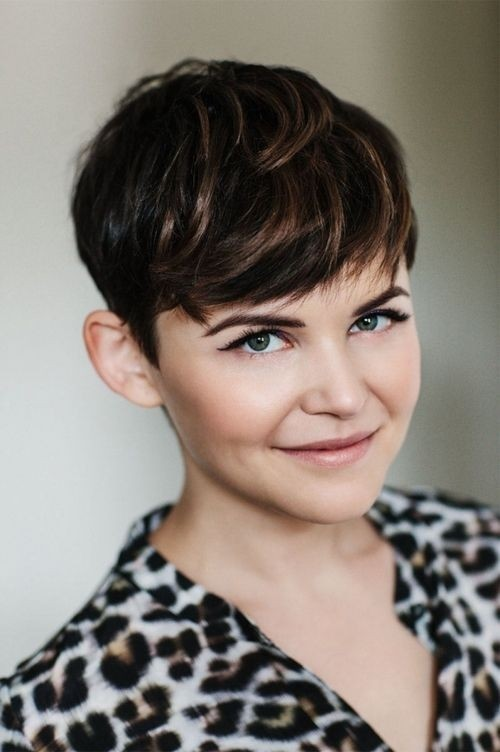 Ginnifer Goodwin Short Pixie Hair Cut Cute Thick Hairstyles