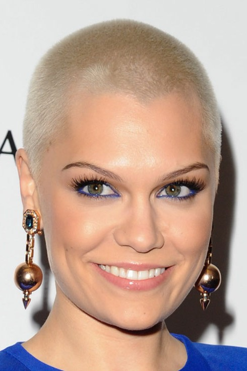 Jessie J Short Buzz Cut for Women
