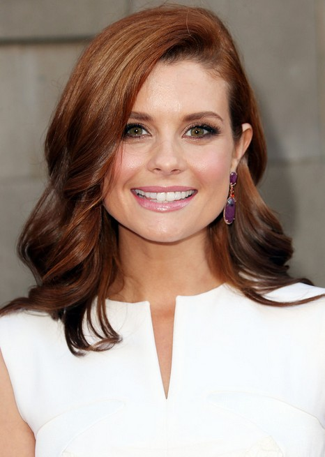 Joanna Garcia-Swisher Long Sweep Wavy Hairstyle for Thick Hair
