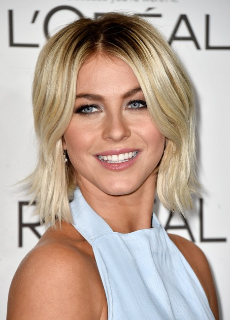 Julianne Hough Layered Razor Cut for Thick Hair