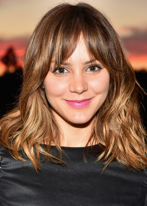 Katharine McPhee Shoulder Length Thick Hairstyle for Women