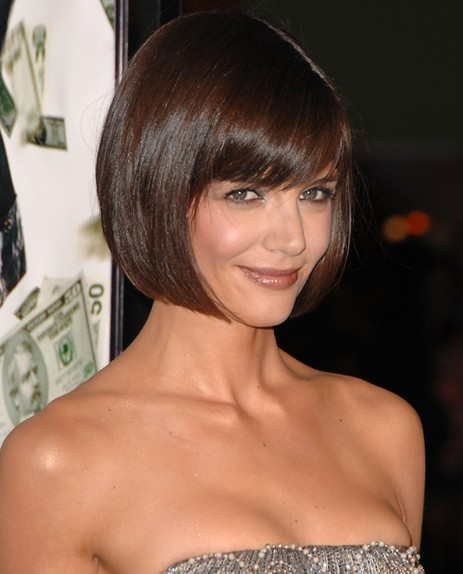 Katie Holmes Classic Short Bob Haircut for 2015