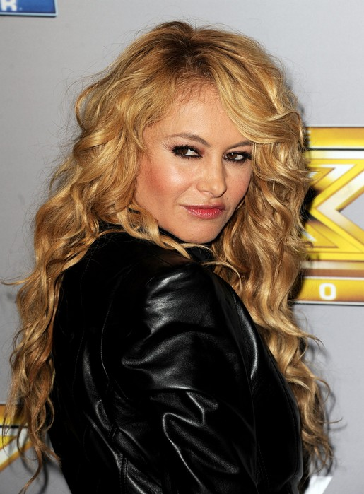 Paulina Rubio Sexy Long Blonde Curly Hairstyle for School