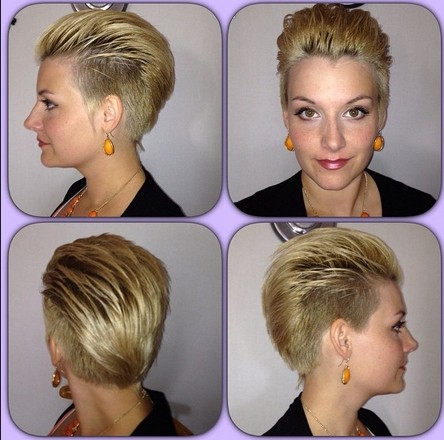 Razor Cuts for Short Hair - Women Straight Hairstyles