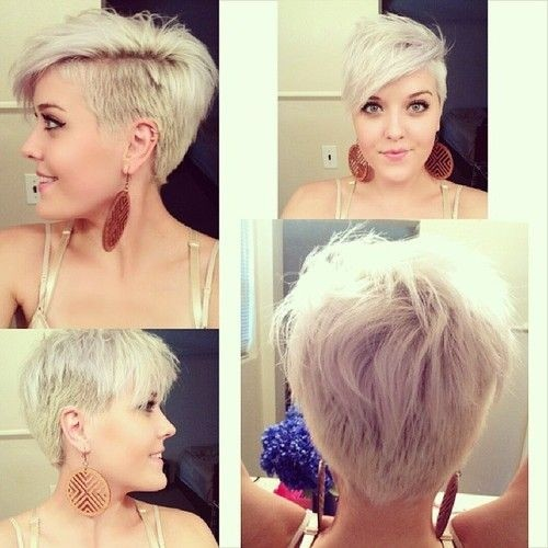 Shaved Haircuts for Short Hair - Thick Hairstyles for Women