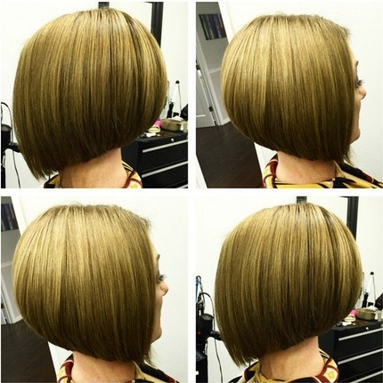 Stacked Bob Hairstyles for Short Straight Hair | Styles Weekly