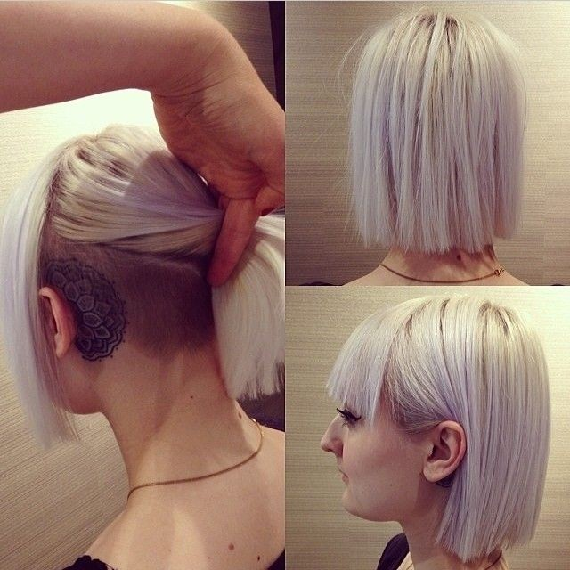 Stylish Blunt Bob Haircut - Short Straight Hairstyles for Thick Hair