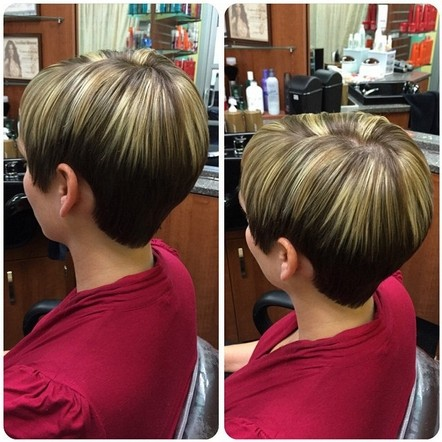 Stylish Hair Color - Straight Short Hairstyle for Summer
