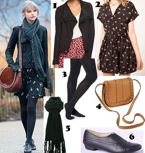 Taylor Swift Fall Outfit Idea