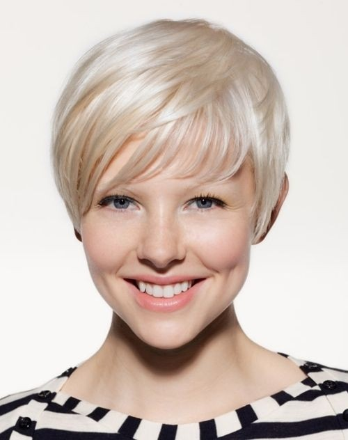 Very Short Hairstyles for Fine Hair for Women