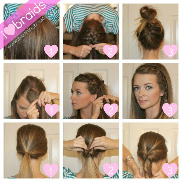 12 Braided Hairstyle Tutorial