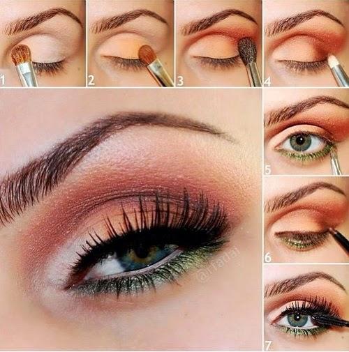 Pretty Golden Eye Makeup Tutorial Perfect Tutorials
