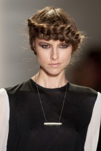 2015 Chic Braided Hairstyle