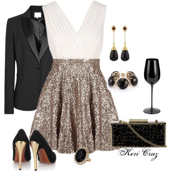 2015 Stylish Party Outfit Idea