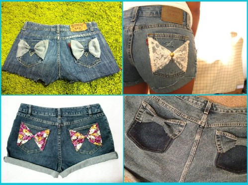 Lace Pocket Cut-Offs