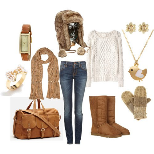 Adorable Winter Outfit for 2015