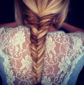 Beautiful Braided Long Hair