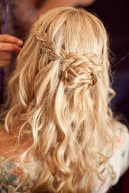 Beautiful Braided Half-up Half-down Hairstyle