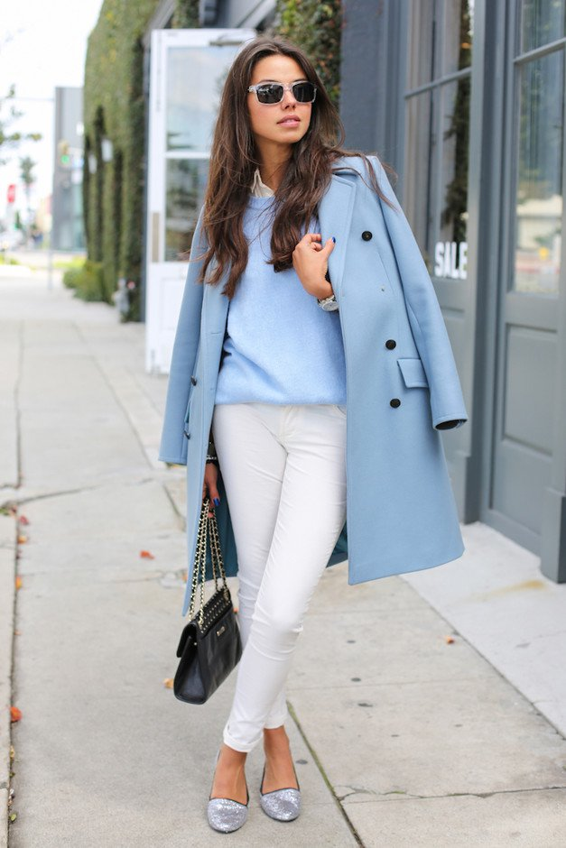 Blue Winter Coat for 2015