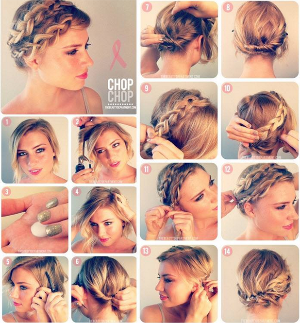 Wondrous 14 Pretty Hairstyle Tutorials For 2015 Styles Weekly Short Hairstyles Gunalazisus