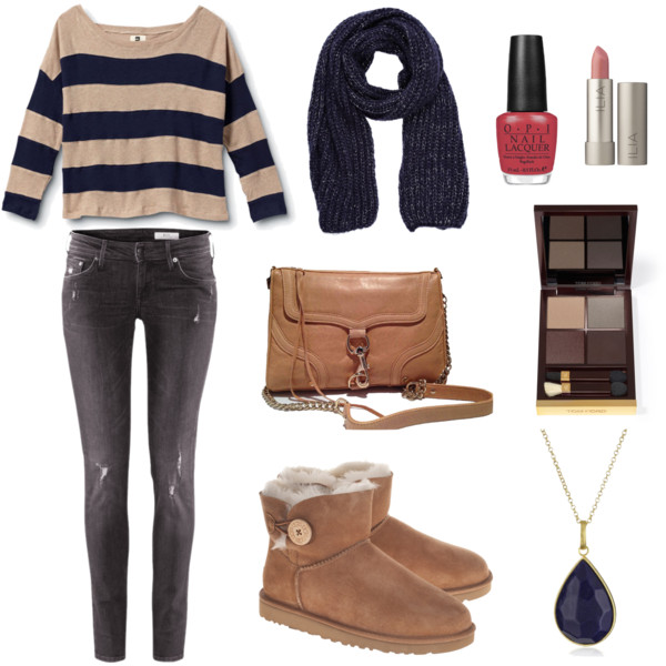 Casual Outfit Idea for Early Spring