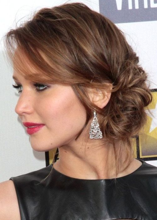 Casual-chic Twisted Lower Updo Hairstyle