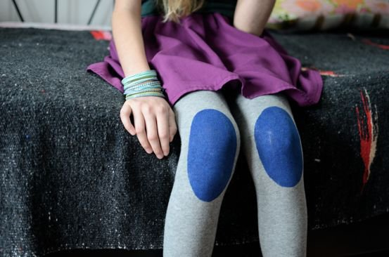 Chic DIY Tights